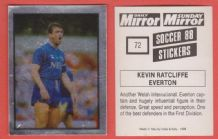 Everton Kevin Ratcliffe Wales